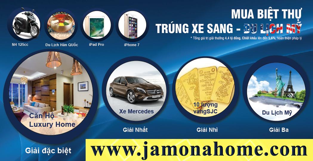 Rút Thăm Trúng Thưởng Jamona Golden Silk